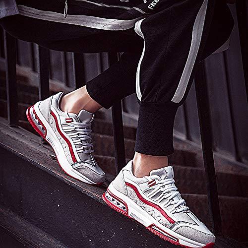 97b3f8f185 Deux Basket Sport Respirantes New 2019 Chaussure Ete Shoes Junior Sneakers  Coussin Rouge D'air Homme ...