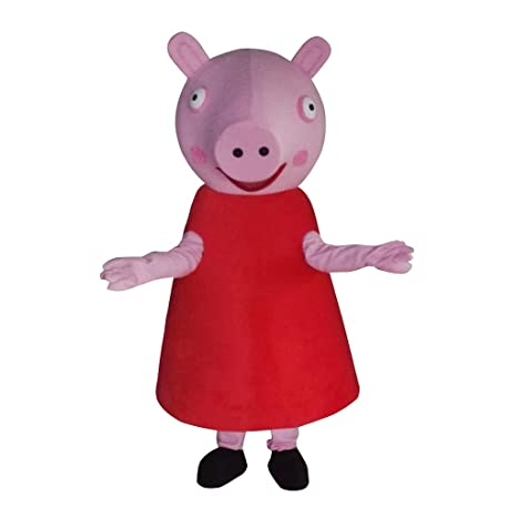 cosplaydiy Unisex disfraz de mascota de Peppa Pig - MS151136e ...