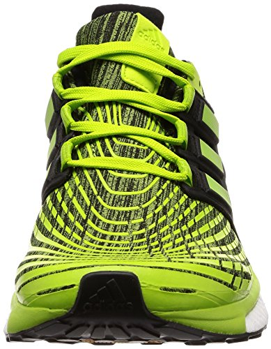 adidas Energy Boost M, Scarpe da Running Uomo Verde (Slime/Sslime/Cblack Sslime/Sslime/Cblack)