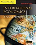 img - for International Economics: A Policy Approach by Mordechai E. Kreinin(September 23, 2005) Paperback book / textbook / text book