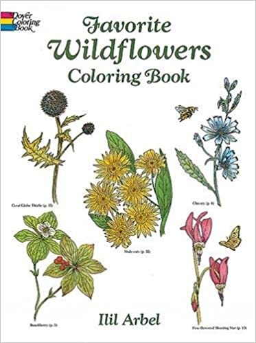 Favorite Wildflowers Coloring Book (Dover Nature Coloring Book ...