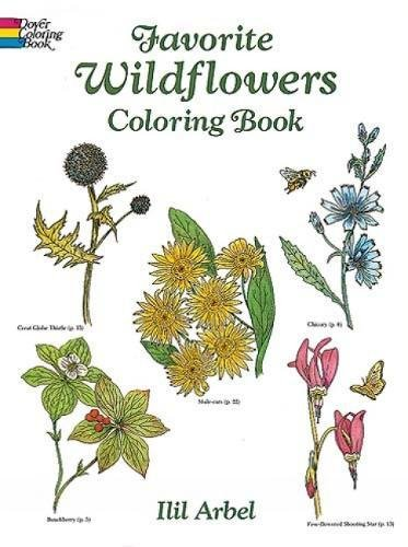 Favorite Wildflowers Coloring Book (Dover Nature Coloring -