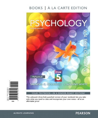 Psychology: An Exploration with DSM5 Update, Books a la Carte Edition (2nd Edition)