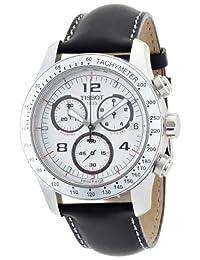 Tissot Men's V8 Chronograph Chronograph Dial Watch White T0394171603700