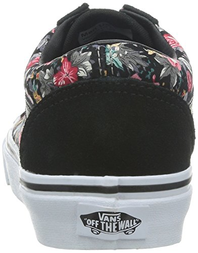 Adulto Unisex Skool Vans U black true Zapatillas floral Old multi RXRUwqIx