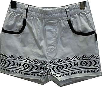 Jojo White Short Shorts For Boys