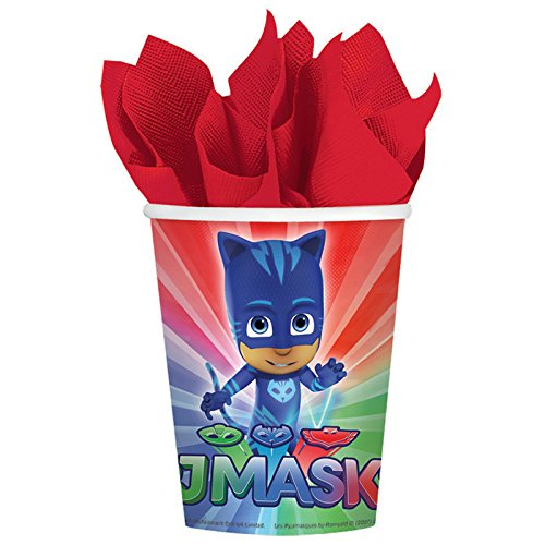 BirthdayExpress Pj Mask Party Supplies 16 Pack Paper Cups ()