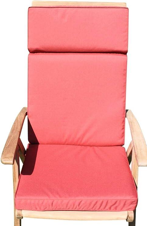 Garden Market Place Cojín reclinable para Silla jardín de Color Terracota, Naranja, 95 X 45 X 35: Amazon.es: Juguetes y juegos