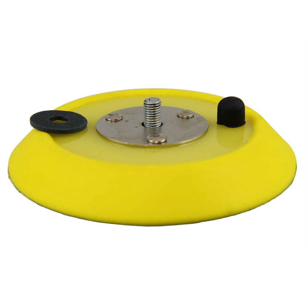 Chemical Guys BUFLC/_BP/_DA/_5 Dual-Action Hook and Loop Molded Urethane Flexible Backing Plate 5 Inch