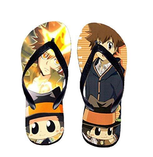 Bromeo Hitman Reborn Anime Unisex Flip Flops Chanclas 625
