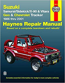 Suzuki Samurai, Sidekick, X-90 & Vitara, Geo/Chevrolet ... on chrysler dodge wiring diagram, kenworth wiring diagram, merkur wiring diagram, morris minor wiring diagram, scion xa wiring diagram, grumman llv wiring diagram, subaru wiring diagram, ghia wiring diagram, willys wiring diagram, jeep wiring diagram, pontiac vibe wiring diagram, mg wiring diagram, gmc truck wiring diagram, nissan wiring diagram, suzuki xl7 wiring diagram, hummer wiring diagram, avanti wiring diagram, saturn vue wiring diagram,