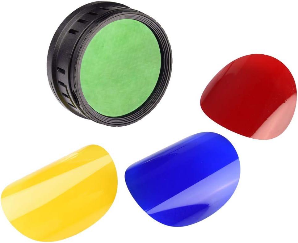 Godox BD-08 Barn Door and Color Filter for Godox AD400Pro Outdoor Flash Strobe Light Monolight