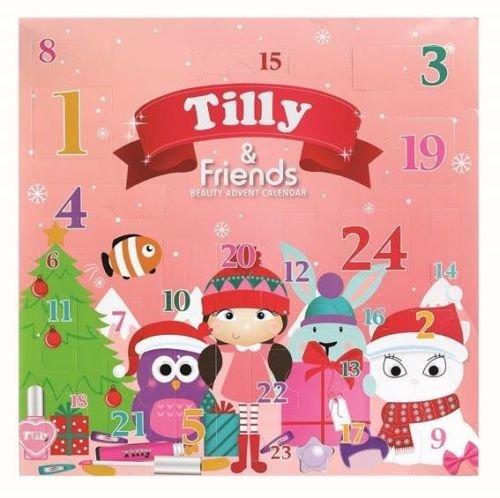Tilly & Friends 24 Advent Calendar (makeup & hair accessories) for Pre Teen Girl by Tilly