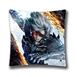 Metal Gear Rising Revengeance Throw Pillow Covers for Bed and Couch 18