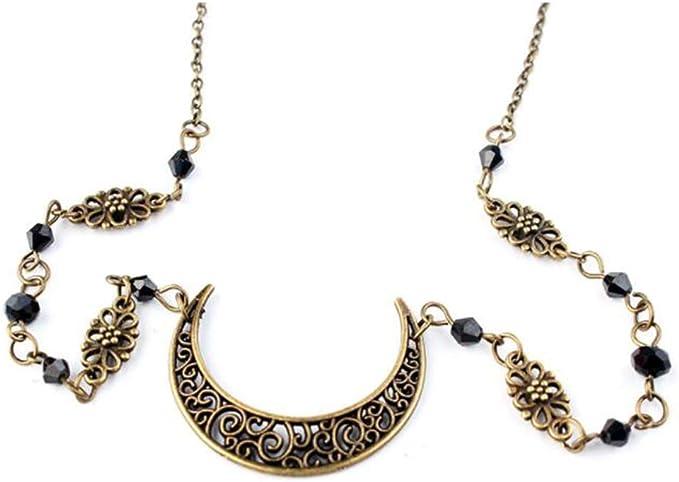 Anglacesmade - Cadena de cabeza de cristal bohemio con diseño de ...