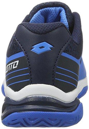 Lotto Stratosphere IV Jr L, Zapatillas de Tenis Unisex infantil Azul (Blu Atl/wht)