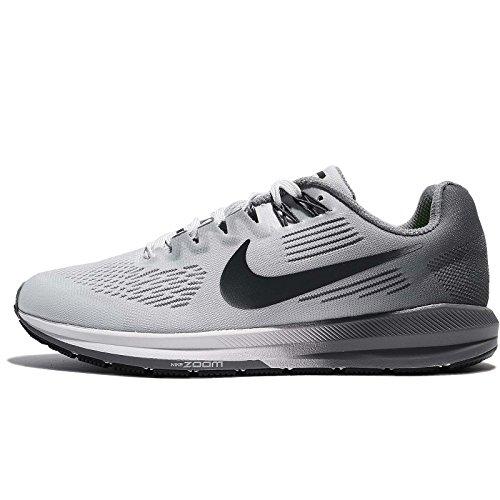 Nike Womens W Air Zoom 21, Platino Puro / Platino Antracite / Antracite