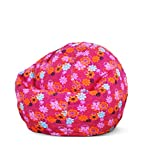 Bean Bag Factory Junior Bean Bag, Flower Print Cover