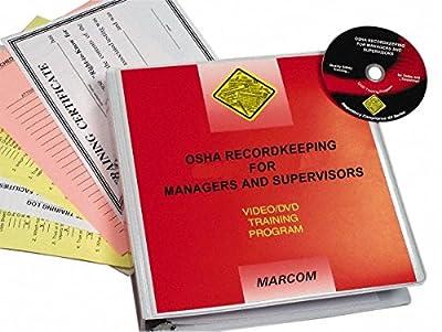 MARCOM OSHA Recordkeeping for Managers and Supervisors DVD Program