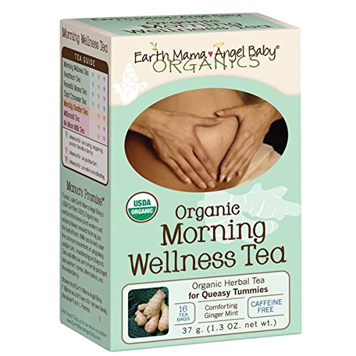 Earth Mama Angel Baby Organic Morning Wellness Tea, 16 Teabags/Box (Pack of 3), Garden, Lawn, Maintenance