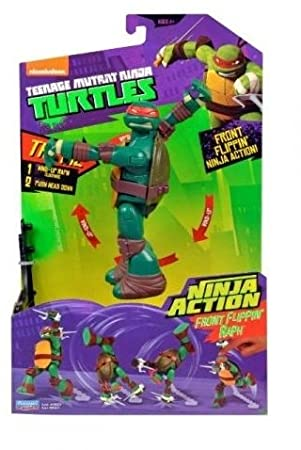 TMNT Teenage Mutant Ninja Turtles Ninja Action - Front ...