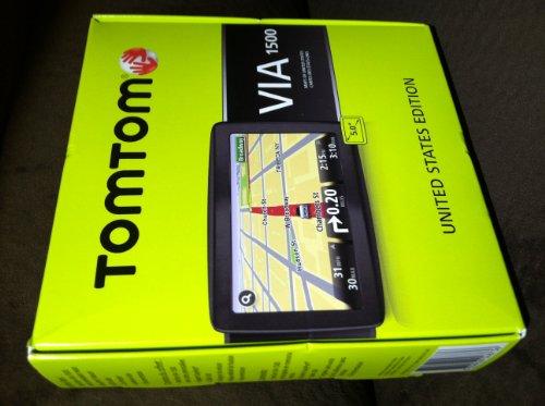 TomTom VIA 1500 5-Inch Portable GPS Navigator