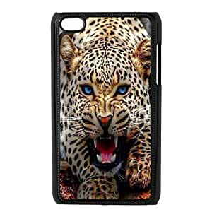 Leopard for Apple iPod Touch 4 Custom Phone Case GYH395306