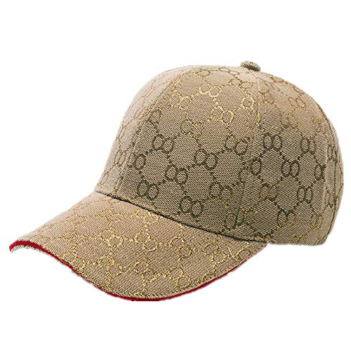 Unisex Fashion OO Honeycomb Lattice Baseball Caps Adjustable Quick Dry Sports Cap Sun Hat (Gold)