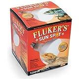 FLUKER LABS 100watt Sun Spot Mercury Vapor Uv Heat Bulb