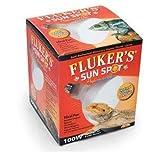Fluker's Sun Spot Self-Ballasted Mercury Vapor Flood Lamp, 100 Watt