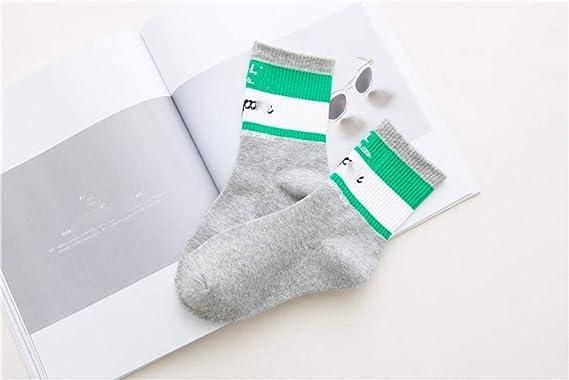 TIGERROSA Calcetines para hombre12 pares shangxin estilo universitario par de algodón calcetines de tubo medio calcetines de algodón calcetines-gris claro_un tamaño: Amazon.es: Ropa y accesorios