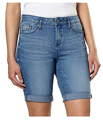 Calvin Klein Jeans Women's Denim City Short (Light Blue, 12)