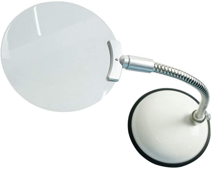 AXZHYX Hand-held Magnifier Magnifying Glass with LED Lights 2X Illuminated Magnifier Folding Magnifier Super High Clarity Lightweight