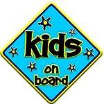 FUNKY KIDS Baby on Board Car Window Sign
