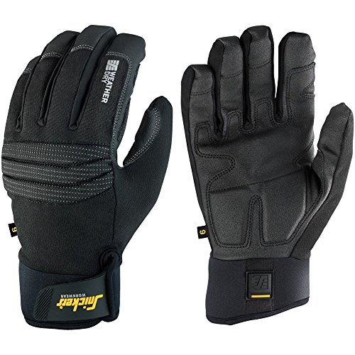Snickers 95790404007 ''Dry'' Weather Gloves, 7, Black by Snickers (Image #1)