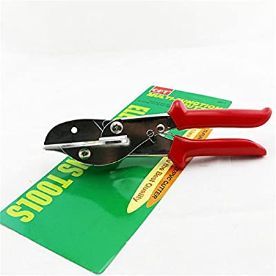 ZKG PVC Trunking Chamfer Cutter Multi Angle Steel Trim Siding Mitre Fillet Shear Snips Trimming Cutting Tools 45 to 120 Degree : Garden & Outdoor