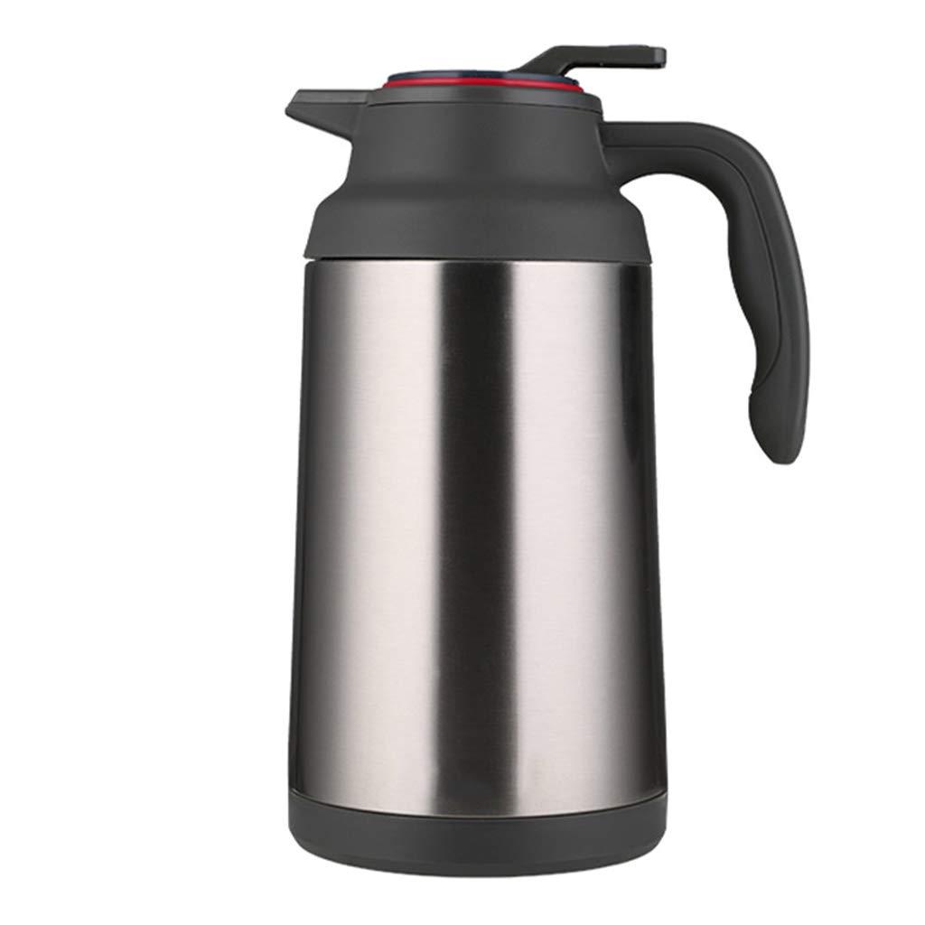 FYCZ Thermoskannen, Edelstahl Große Kapazität Haushalt Outdoor Wärmflasche Langzeit Isolierung Kaffeesaft 1.5L O7