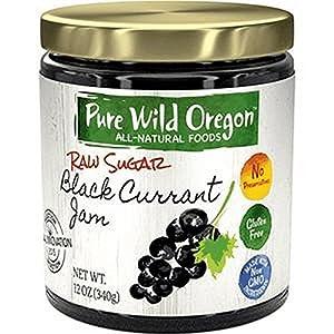 PURE WILD OREGON, Black Currant Jam, 12 OZ