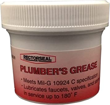 Amazon.com: Rectorseal 50811 2-Ounce Plumbers Grease: Home Improvement
