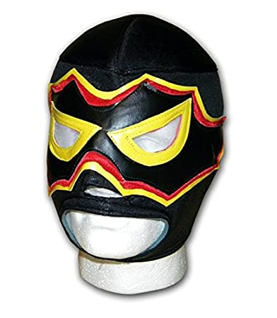 Negro - Adulto euphoria- Mexicano Corbata Up Máscara: Amazon.es ...