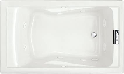 American Standard 2771vc 020 Evolution 5 Feet By 36 Inch Deep Soak Whirlpool Bath Tub With Everclean And Hydro Massage System I White Amazon Ca Tools Home Improvement