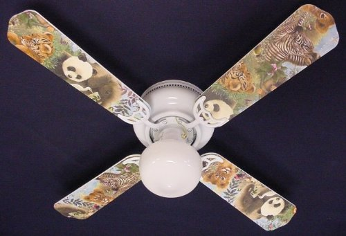 zebra ceiling fan blades - 9