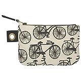 Danica Studio Zipper Pouch, Small, Bicicletta