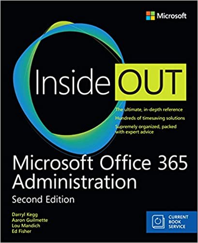 Book Microsoft Office 365 Administration Inside Out (Includes Current Book Service) (2nd Edition)