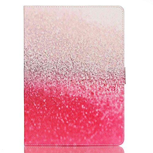 iPad 5(Air) Case, Firefish Stylish [Kickstand] [Non Slip] [Card Holder] Comprehensive Protection PU Leather Inner TPU Skin for Apple iPad Air (Not for Air 2)-Pink (Ysl Rouge Pur Couture 12 compare prices)