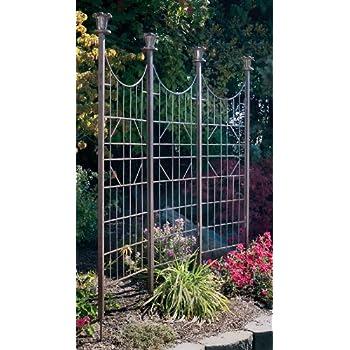Delightful H Potter Large Iron Garden Trellis Screen / Patio Screen Fence