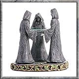 Magik Circle - Wiccan Oil Burner with Glass Dish