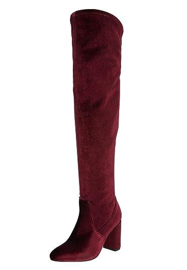 db897a5f3aca Comfortview The Trisha Wide Calf Boot - Burgundy