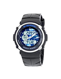 Casio Men's G300-2AV G-Shock Ana-Digi Shock Resistant Street Rider Sports Watch