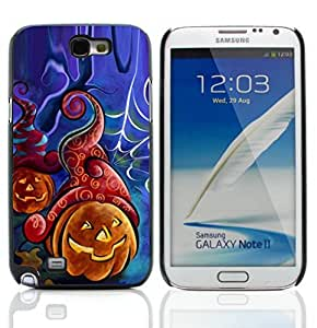 Graphic4You Halloween Theme Pumpkin Design Hard Case Cover for Samsung Galaxy Note 2 Note II
